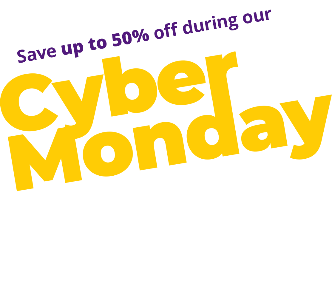 Shop Now and Save Up to 50% During Our Cyber Monday 2020 Sale, Only At JR Toy Company Canada!