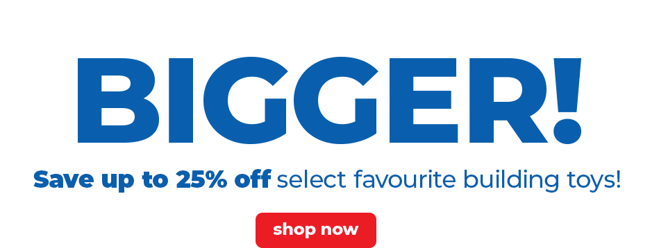 Save Up to 25% off Select Building Toys For a Limited Time Only at JR Toy Company Canada