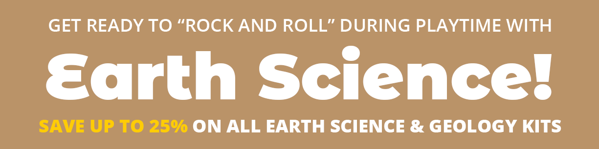 Earth and Science Toy Sale on Now