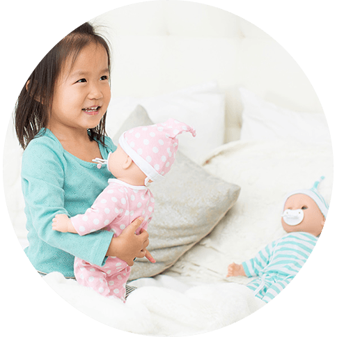 Melissa and Doug Mine to Love Twin Dolls