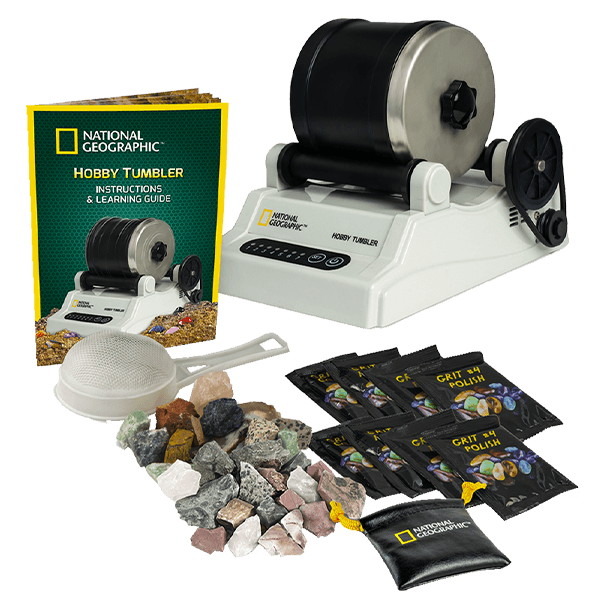 National Geographic Hobby Rock Tumbler