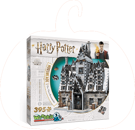 Wrebbit 3D Harry Potter Hogsmeade The Three Broomsticks Jigsaw Puzzle