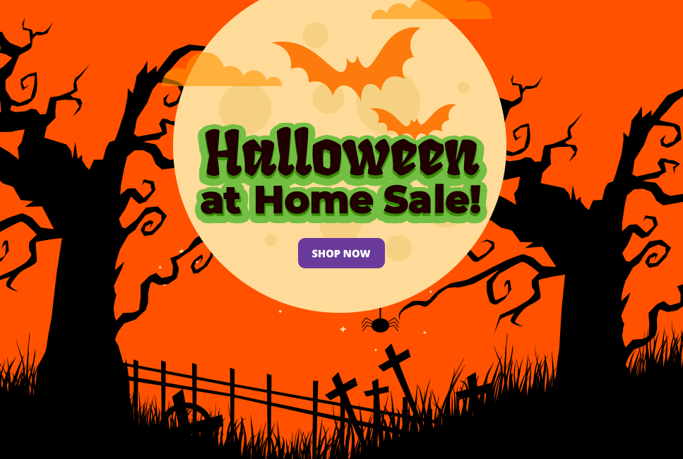 Save On our Favourite At Home Halloween Toys, Costumes and Games at JR Toy Company!