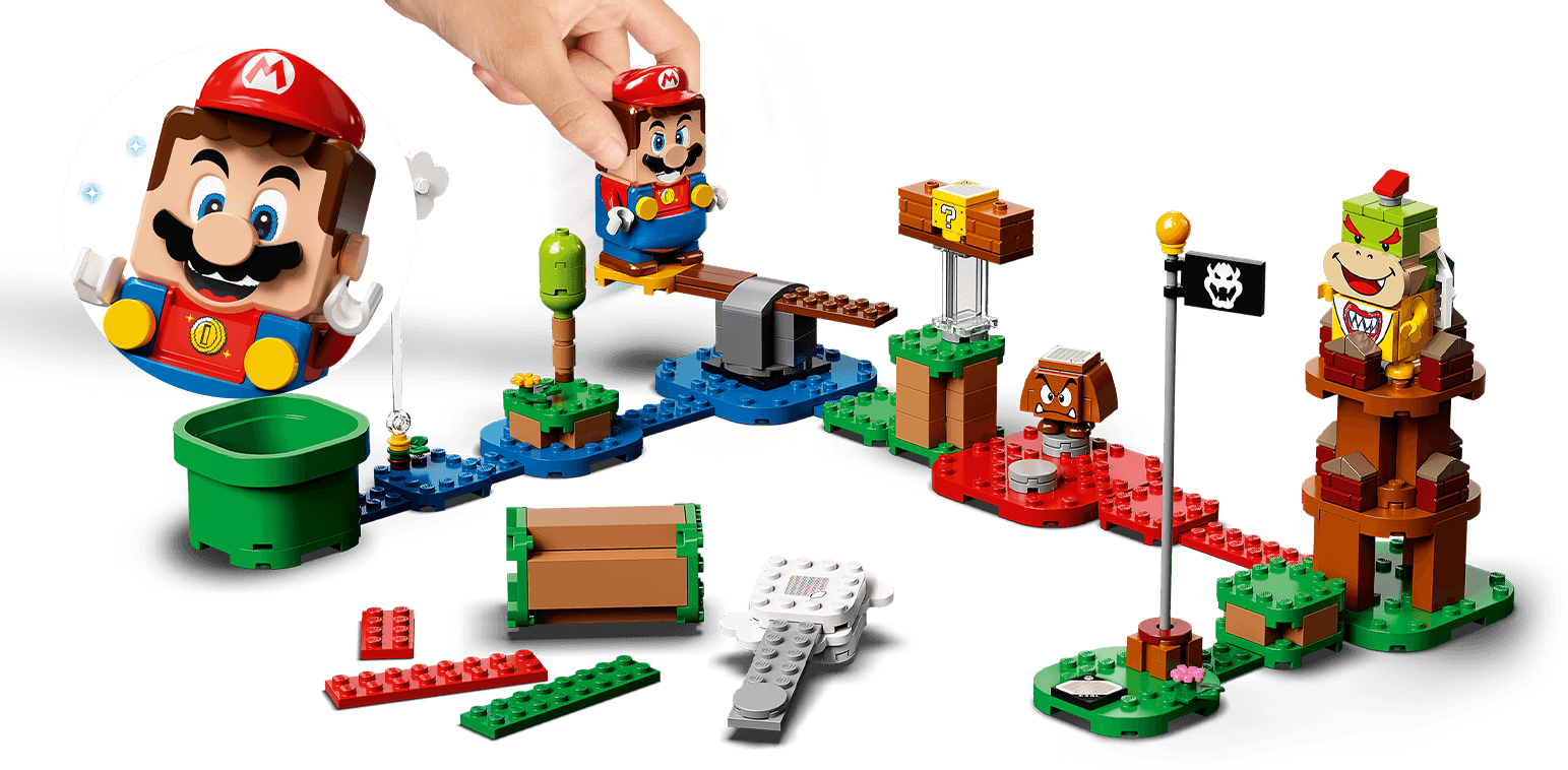 Get the All New LEGO® Super Mario™ 71360 Adventures with Mario Starter Course Kit Now at JR Toy Company!