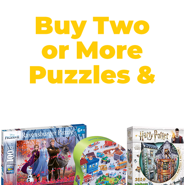 Shop and Save on Puzzles All January Long at JR Toy Company Canada