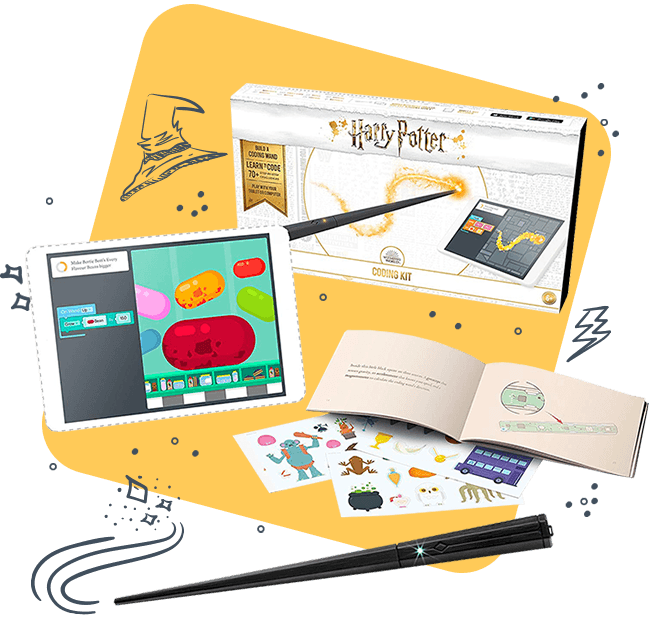 Harry Potter Kano Coding Wand on Sale Now