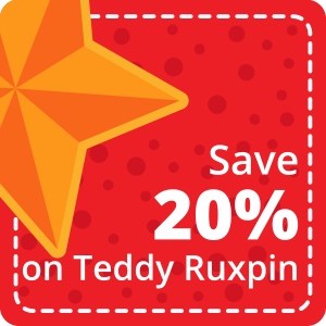 20% Off Teddy Ruxpin