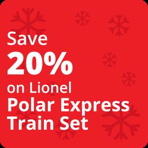 20% Off the Polar Express Set