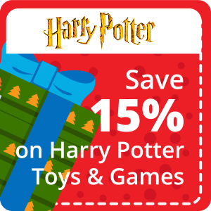 15% Off All Harry Potter Product