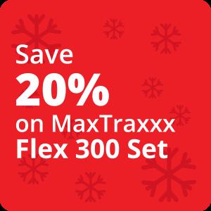 20% Off Maxtraxxx Flex 300 Set