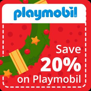 20% Off PlayMobil