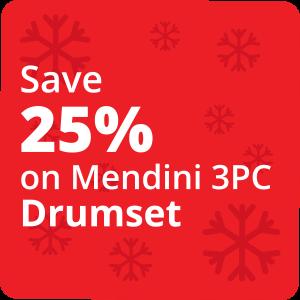 25% Off Drumset