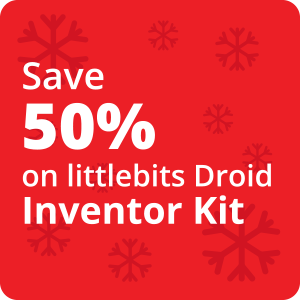 50% Off Droid Inventor Kit