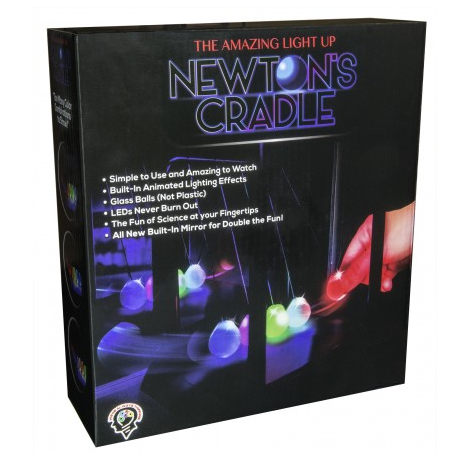 Newton's Multi-Color Light Up Cradle