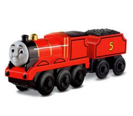 Thomas & Friends Wood Battery Operated James