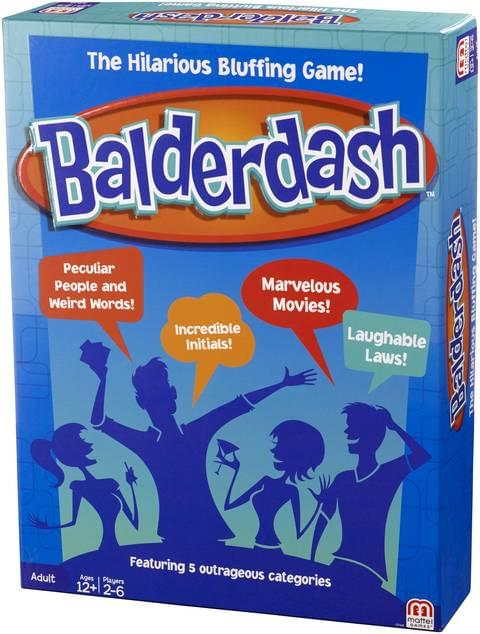 Discontinued Balderdash Game