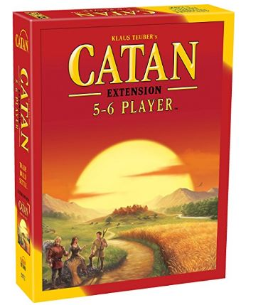 Mayfair Catan 5 and 6 Player Board Game Extension Pack
