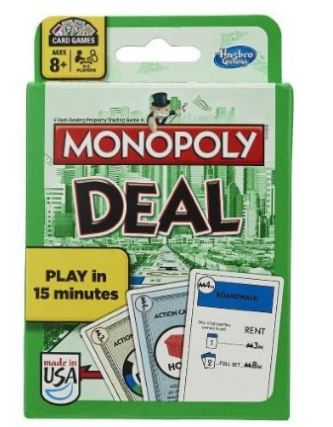 Hasbro Monopoly Deal! Card Game