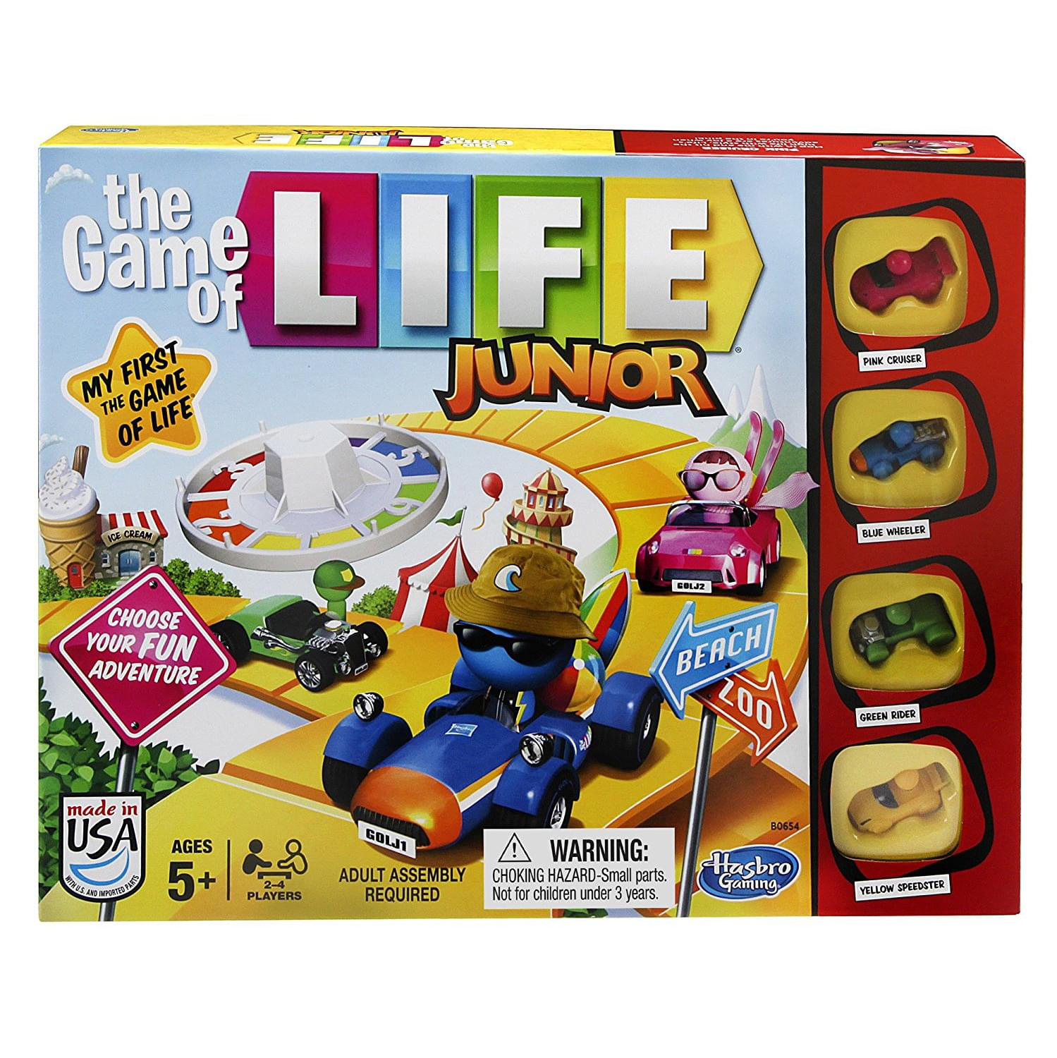 Discontinued Hasbro Game of Life Junior Board Game