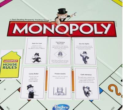 Hasbro Original Monopoly Board Game