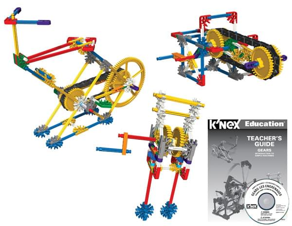 K'NEX Education Intro To Simple Machines - Gears