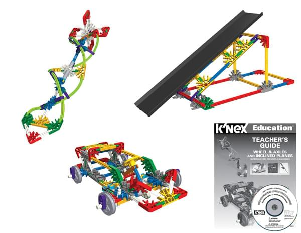 K'NEX Education Intro To Simple Machines - Wheels, Axles & Inclined Planes