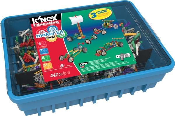 K'NEX Education Maker Kit Wheels