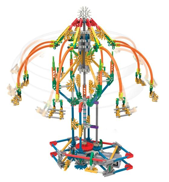 K'NEX Education STEM Explorations Swing Ride Building Set