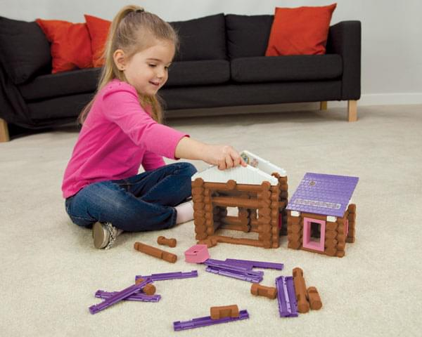 K'NEX Lincoln Logs Country Meadow Cottage