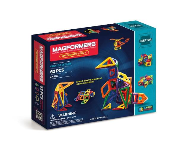 Magformers Designer Set (62 PCS)