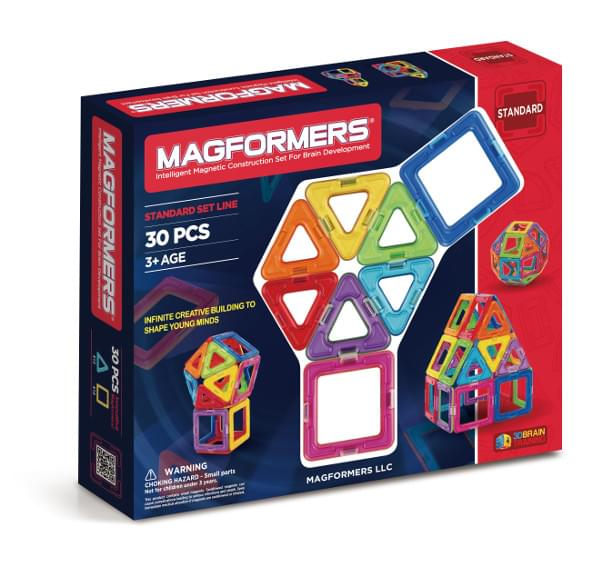 Discontinued Magformers Rainbow Set (30 PCS)