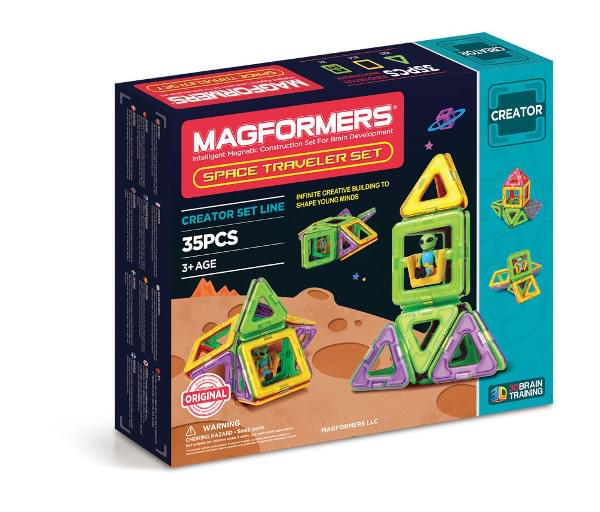 Magformers Space Traveler (35 PCS)