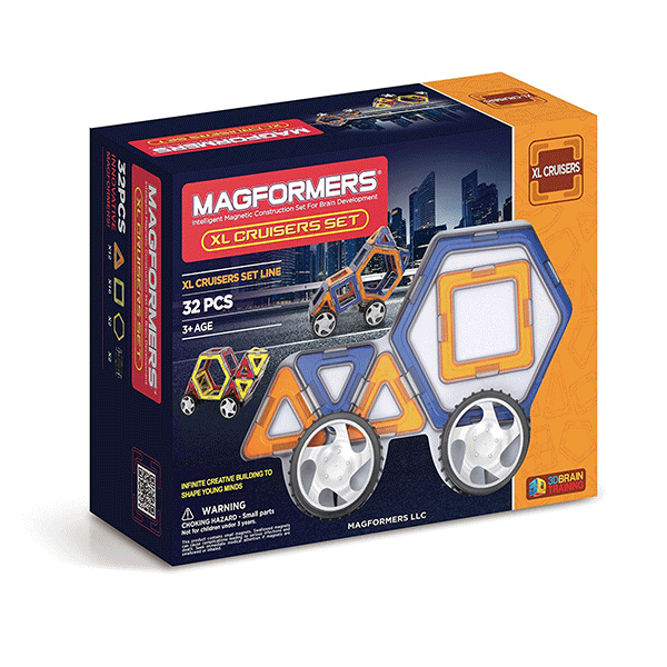 Magformers XL Cruiser (32 PCS)