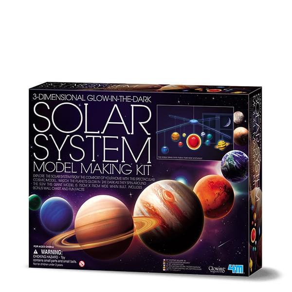 4M 3D Solar System Model Making Kit