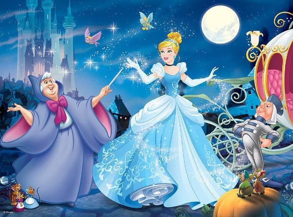 Ravensburger Adorable Cinderella 100 Piece Puzzle