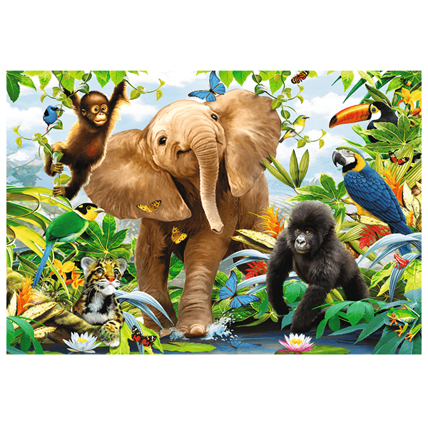 Ravensburger Jungle Juniors 24 Piece Floor Puzzle