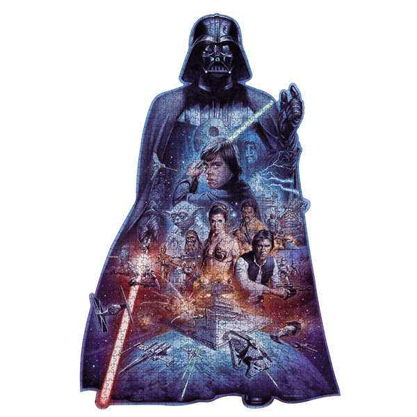 Ravensburger Darth Vader Silhouette 1098 Piece Puzzle