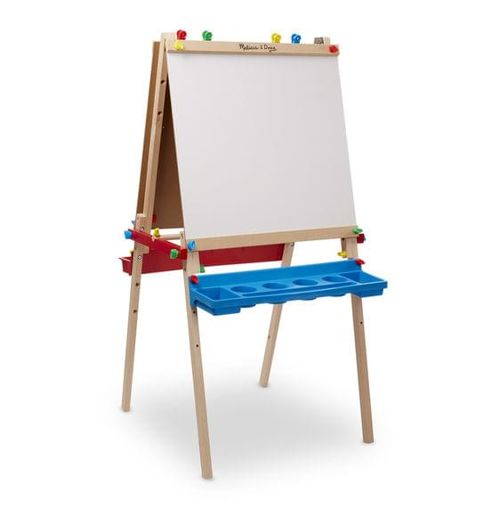 Melissa and Doug Deluxe Wooden Standing Art Easel