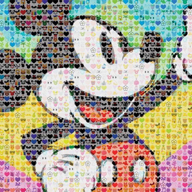 Disney Emoji Mickey 300 Piece Puzzle