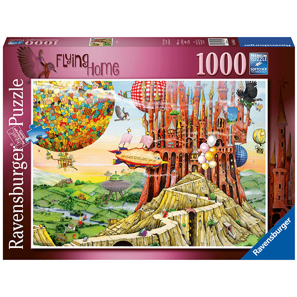 Ravensburger Flying Home 1000 Peice Puzzle