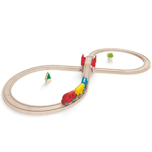 Hape Figure Eight Railway Set