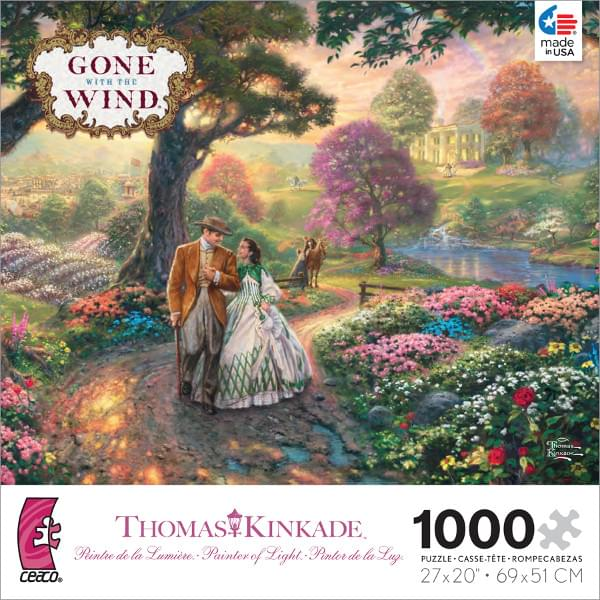 Thomas Kinkade WB Movie Classics: Gone with the Wind 1000 Piece Puzzle