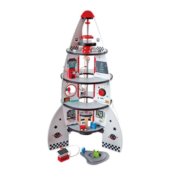 Discontinued Hape Four-Stage Rocket Ship