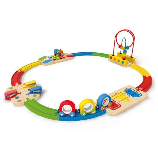 Hape Rainbow Musical Railway Set