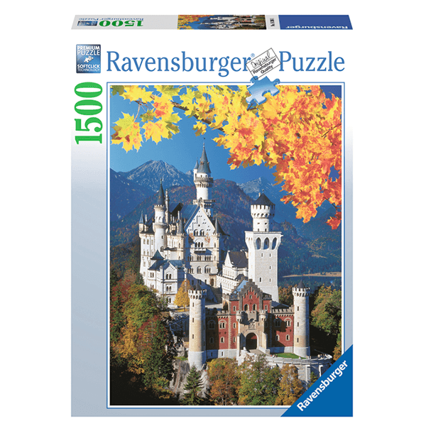 Ravensburger Neuschwanstein in Autumn 1500 Piece Puzzle