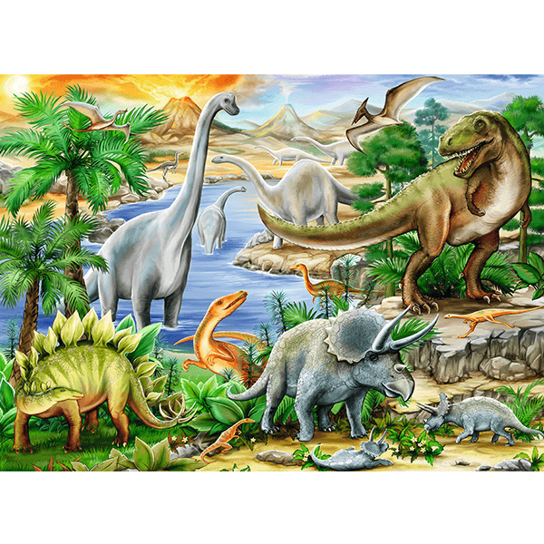 Ravensburger Prehistoric Life 60 Piece Puzzle