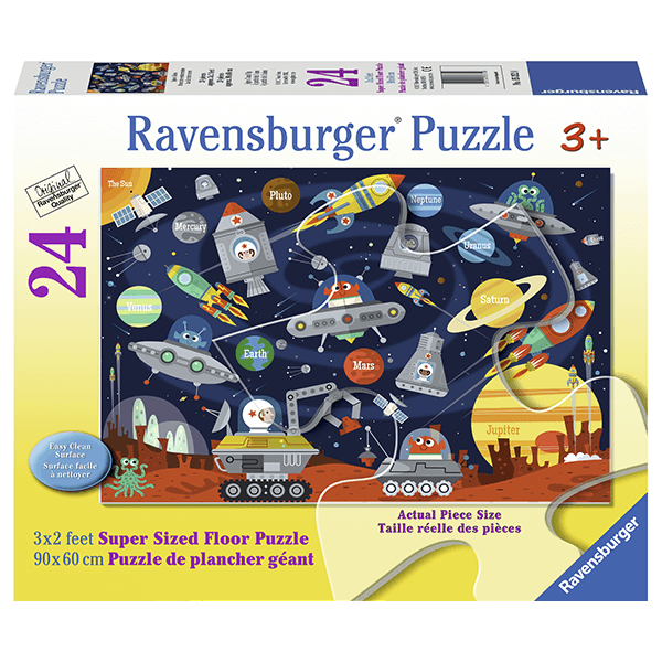 Ravensburger Space Aliens 24 Piece Floor Puzzle