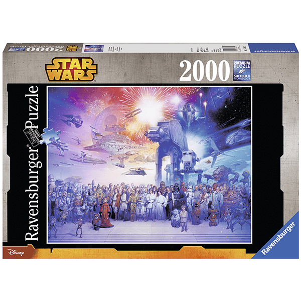 Ravensburger Star Wars Universe 2000 Piece Puzzle