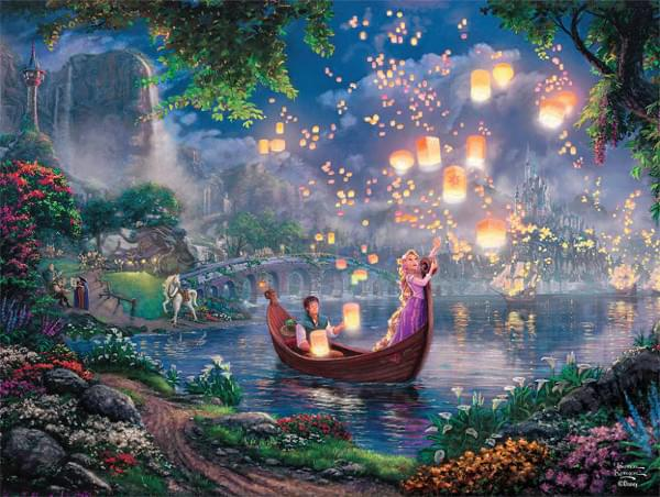 Ceaco Disney Dreams Collection: Tangled 750 Piece Puzzle