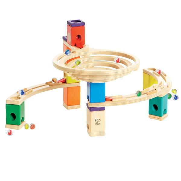 Hape Quadrilla Marble Run The Roundabout